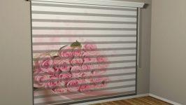 Yatak Odasına Zebra Perde Olur Mu?